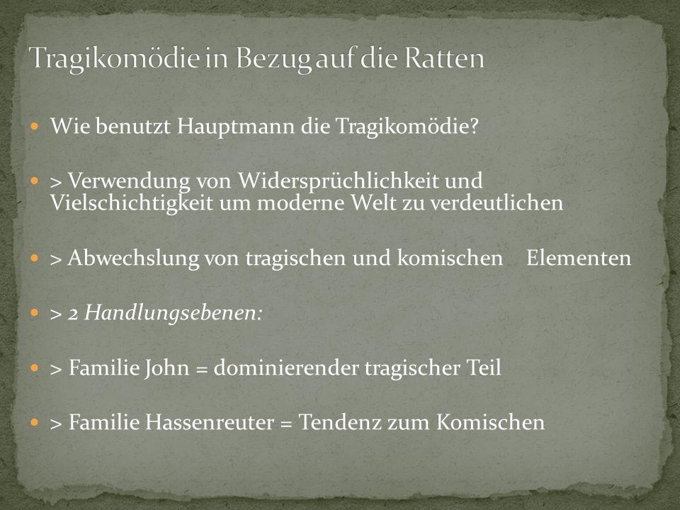 Begriff Tragikomödie erstmal von Plautus verwendet Aufhebung der Ständeklausel -> Renaissance theoretische Begründung der Gattung 17 Jhd. folgten zahl