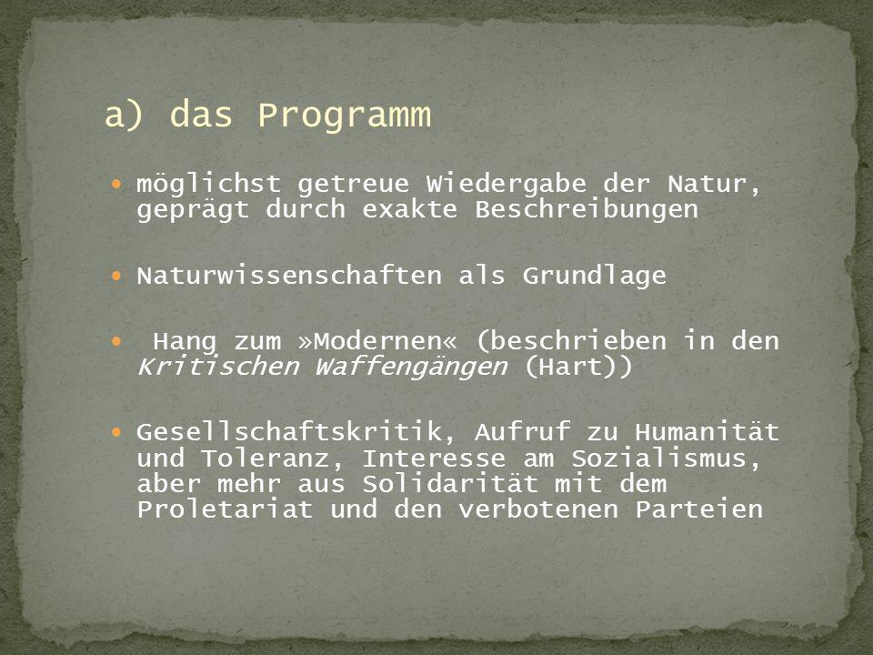 Bücher: -Texte, Themen und Strukturen -Meyers neues Taschenlexikon(12 Bände; Auflage von 1997) Internet: http://www.sewanee.edu/german/Literatur/move.html http://www.ni.schule.de/~pohl/literatur/index.htm
