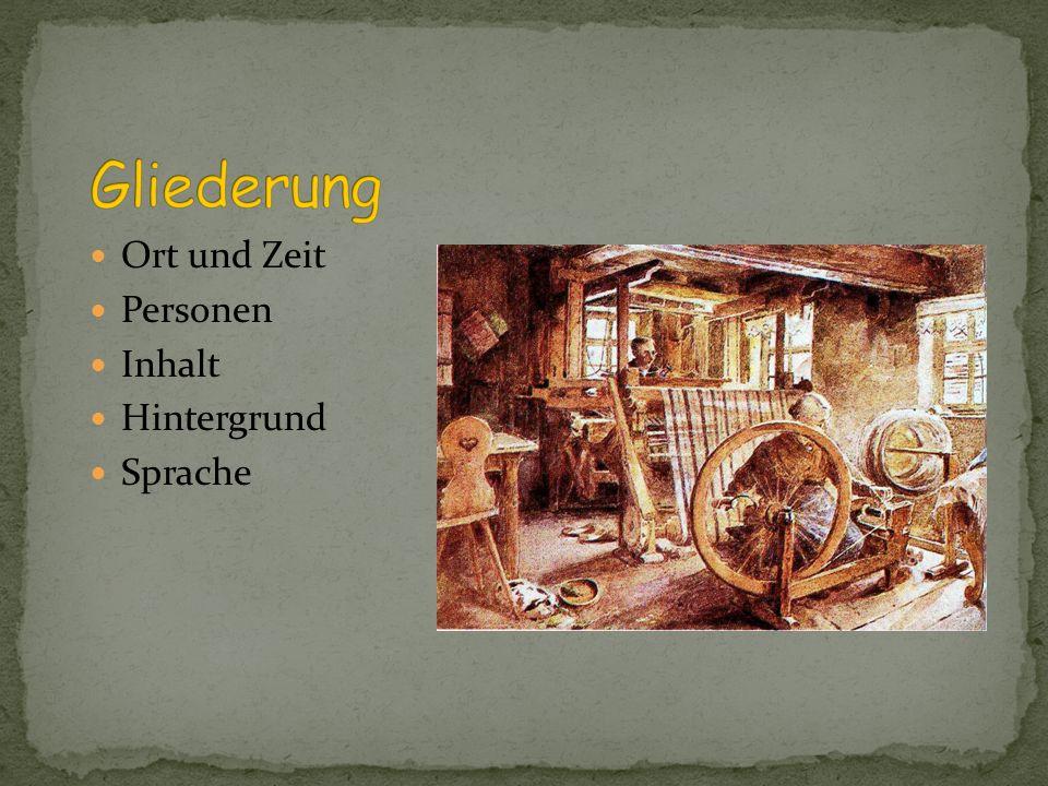 1891 Gerhart Hauptmann Der Fünfakter Die Weber, bedeutendstes Drama von Gerhart Hauptmann