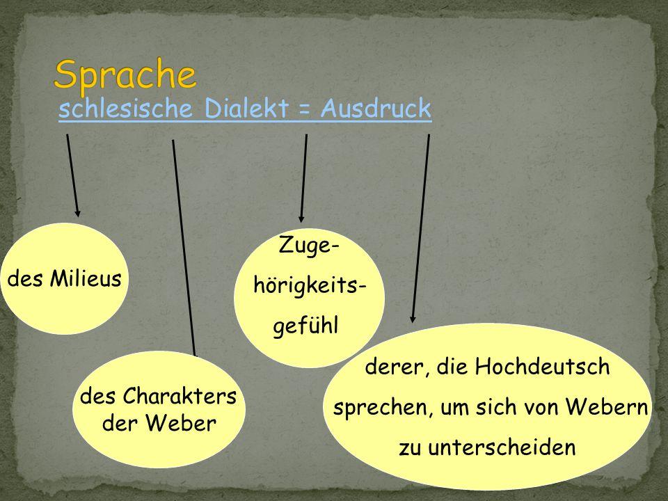 Weberaufstände 1844 Hintergrund