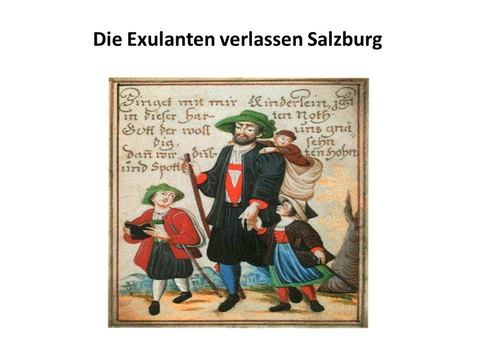 Reiseroute von Salzburg nach Rotterdam