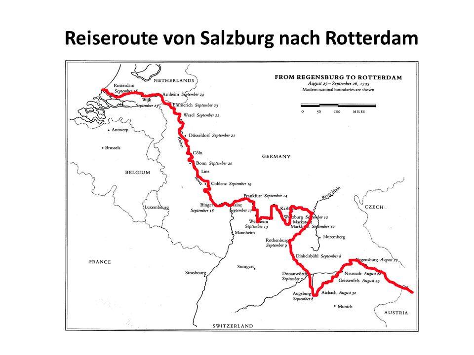 Der Treck durch Deutschland