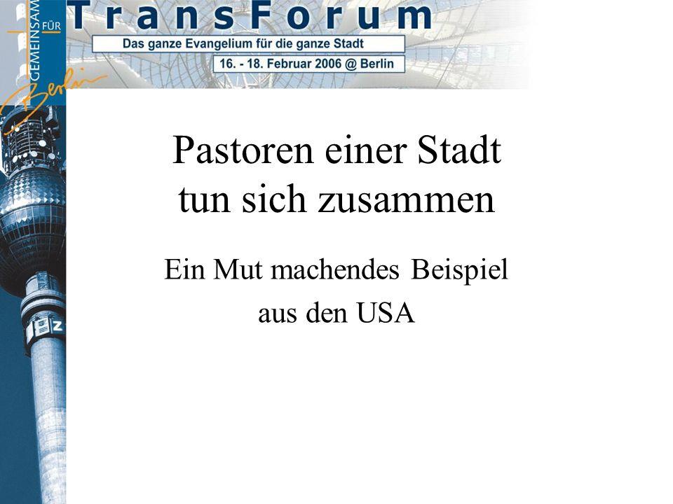 Pilotprojekt Jesus Zentrum Kassel