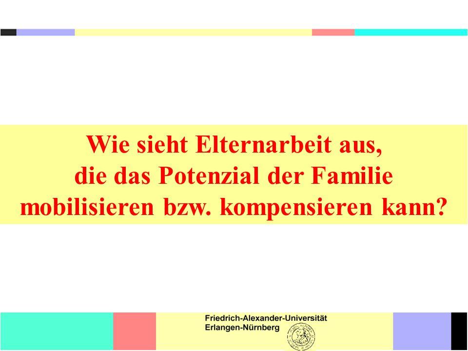 Literatur Jeynes, W.H. (2011): Parental Involvement and Academic Success.