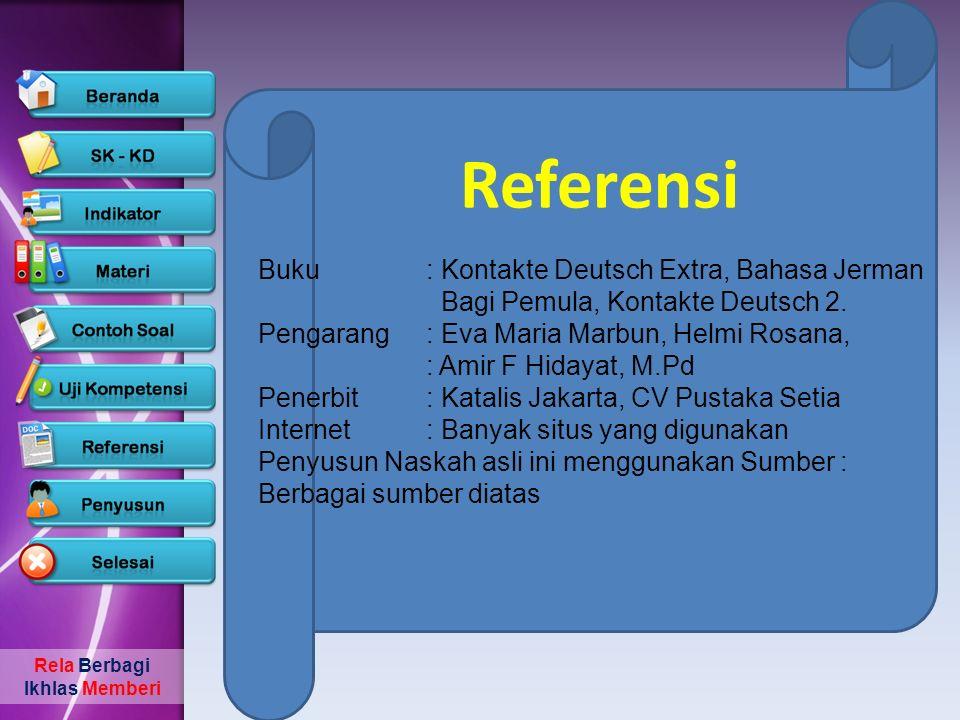 Rela Berbagi Ikhlas Memberi Penyusun Nama: Nursalim Instansi: SMA Negeri 5 Ternate Alamat: Jln.