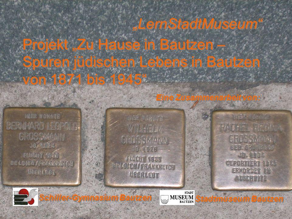 Am 9./10.November 2008 jährt sich auch in Bautzen zum 70.