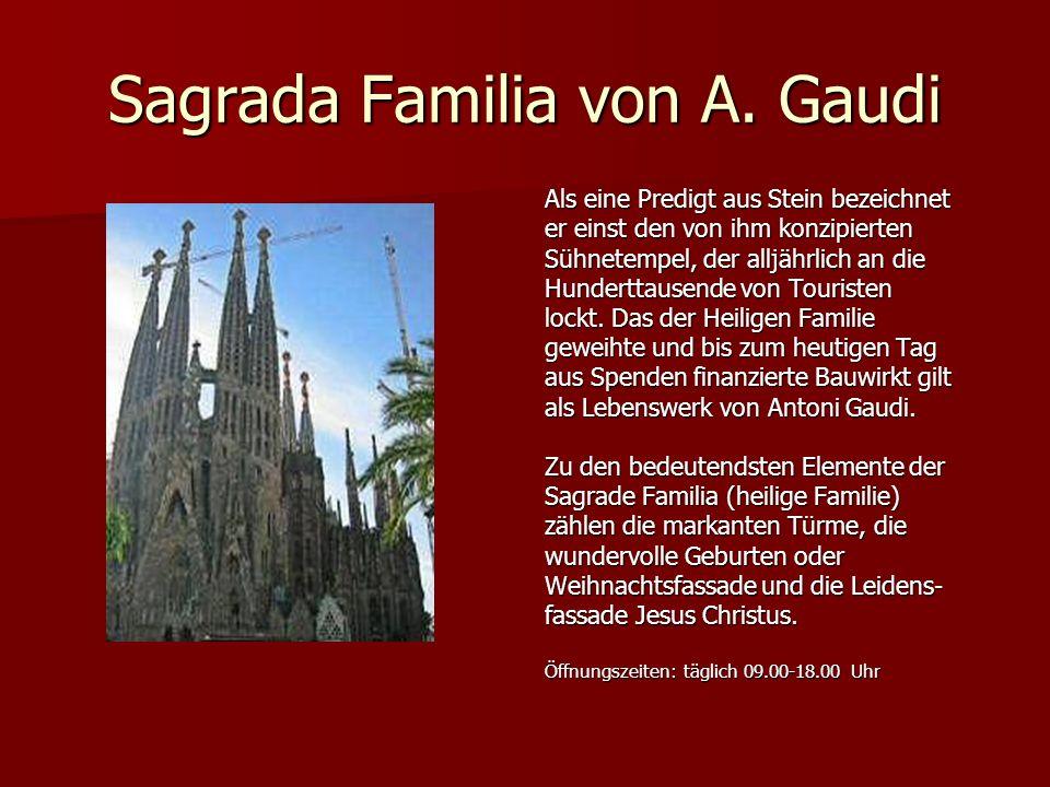 Sagrada Familia von A.