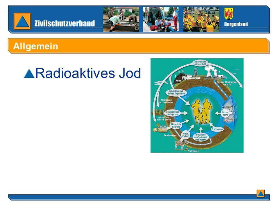 Radioaktives Jod Allgemein