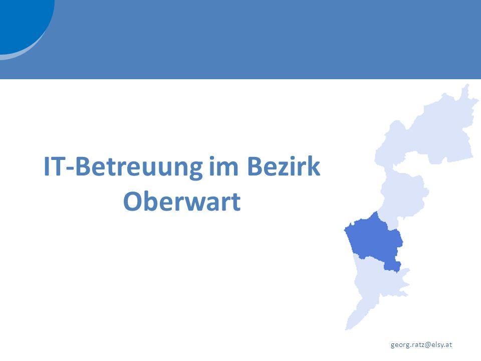 IT-Betreuung im Bezirk Oberwart georg.ratz@elsy.at