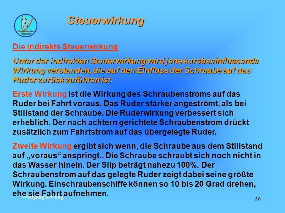 Wolfgang Kösling 80 Steuerwirkung Die indirekte Steuerwirkung Unter der indirekten Steuerwirkung wird jene kursbeeinflussende Wirkung verstanden, die
