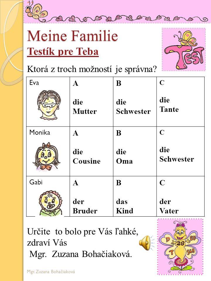Meine Familie Ich heiβe Dietrich Wer ist das? Ina ist meine....... Kuno ist mein..... Lina ist meine.... Emilie ist meine..... Friedrich ist mein.....