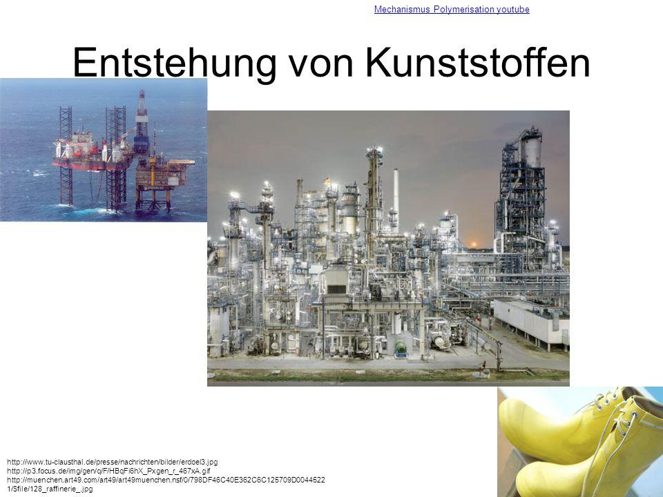 Entstehung von Kunststoffen http://www.tu-clausthal.de/presse/nachrichten/bilder/erdoel3.jpg http://p3.focus.de/img/gen/q/F/HBqFi6hX_Pxgen_r_467xA.gif