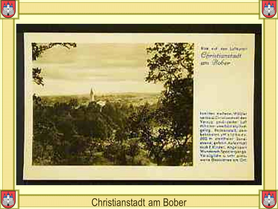 Christianstadt am Bober