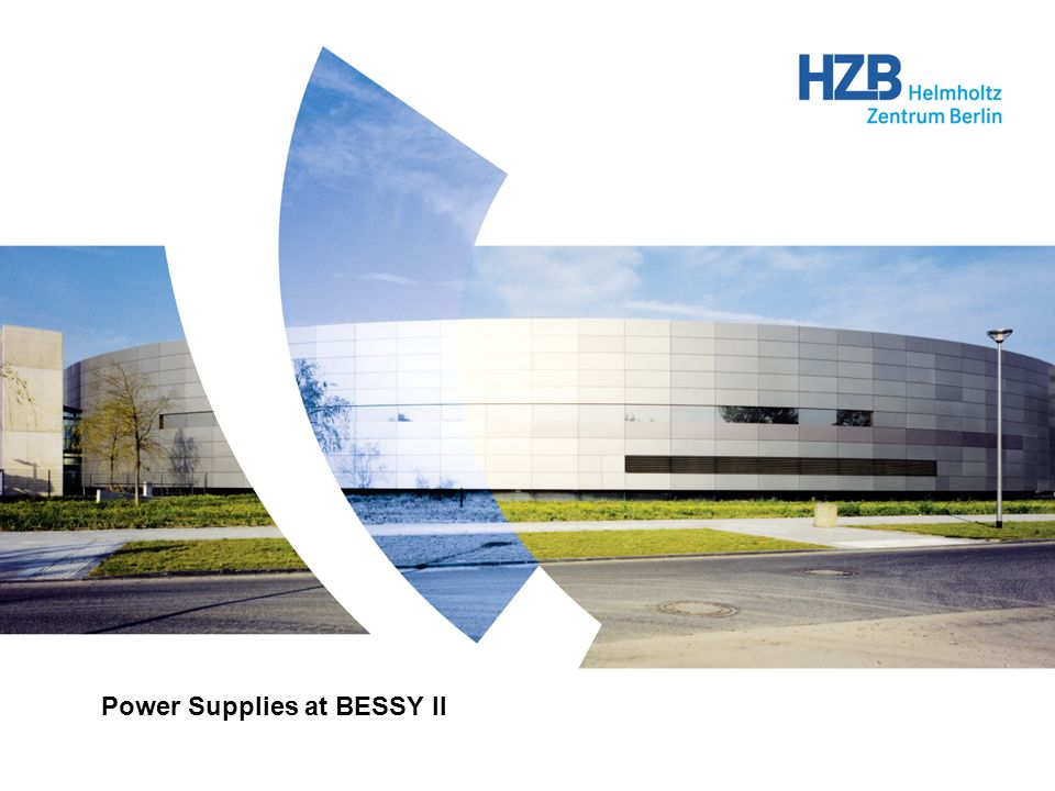 Power Supplies at BESSY II
