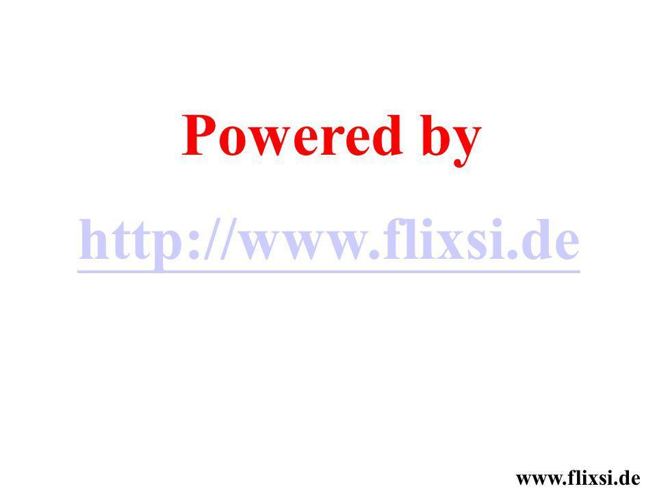 Powered by http://www.flixsi.de www.flixsi.de