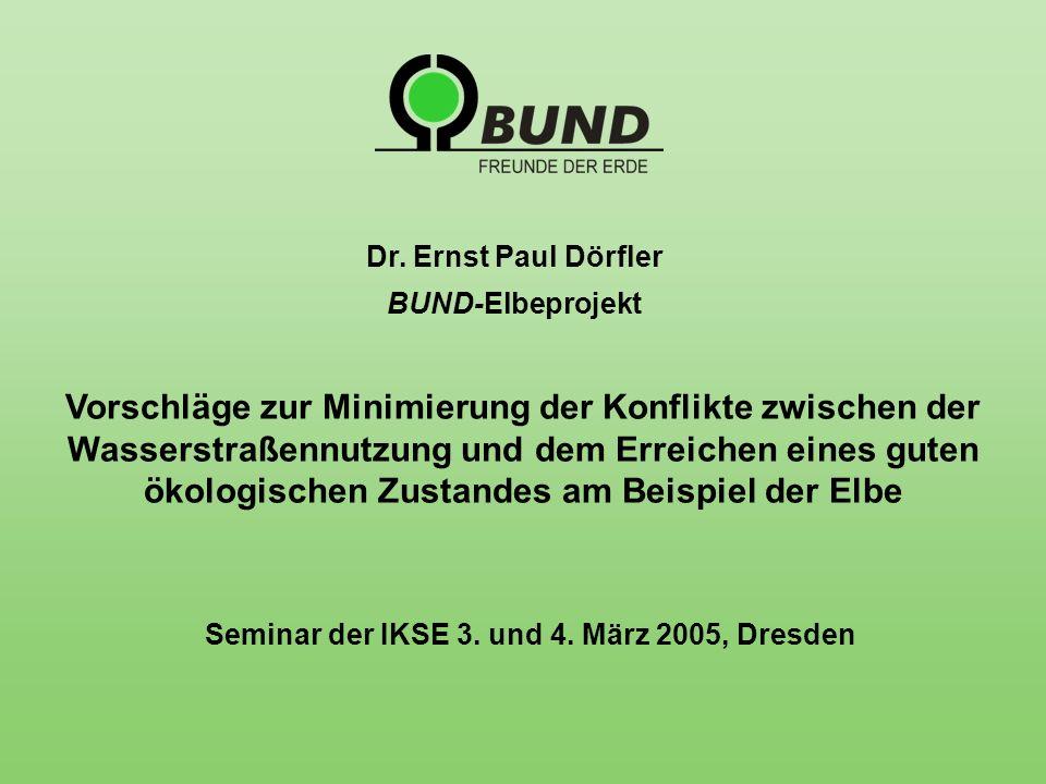 Seminar der IKSE 3. und 4. März 2005, Dresden Dr.