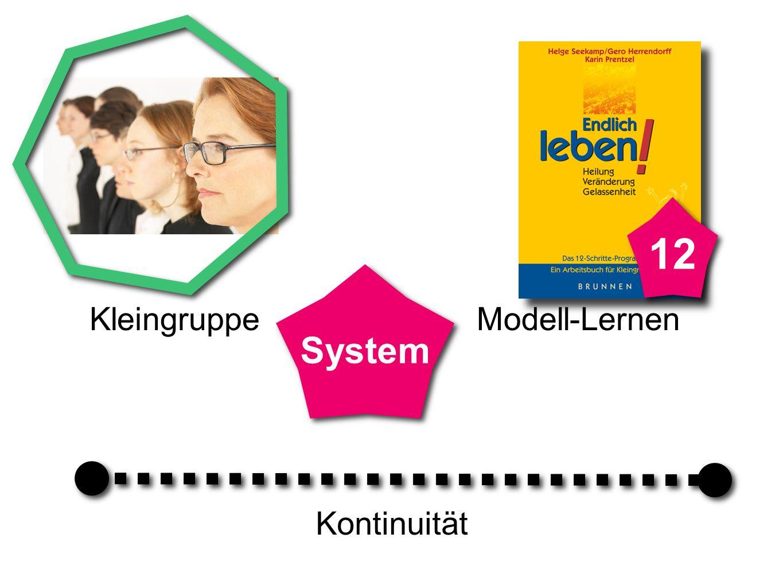 Kontinuität Modell-Lernen System 12 Kleingruppe