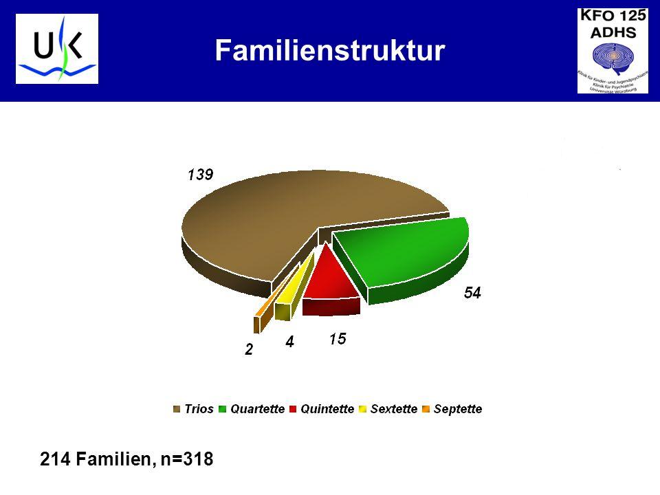 KJPP Familienstruktur 214 Familien, n=318