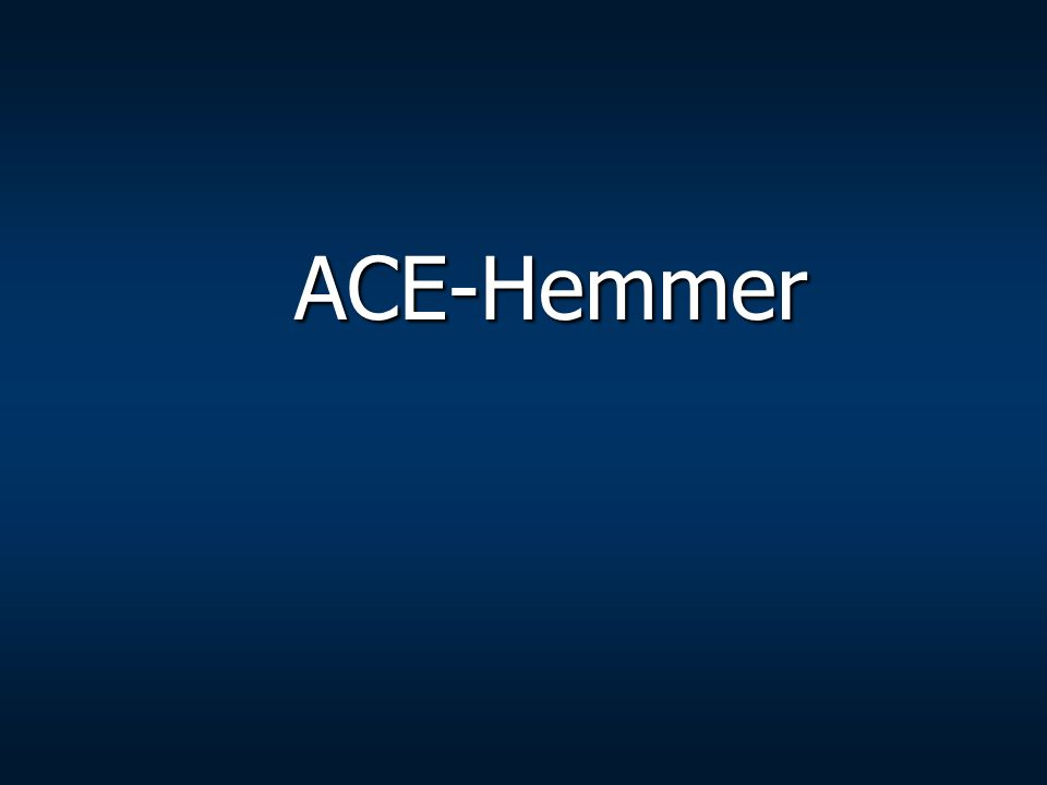 ACE-Hemmer ACE-Hemmer