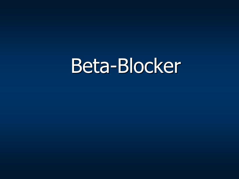 Beta-Blocker Beta-Blocker