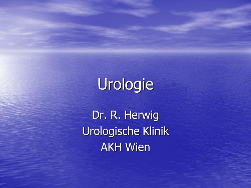 Urologie Dr. R. Herwig Urologische Klinik AKH Wien