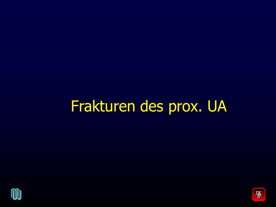 Frakturen des prox. UA