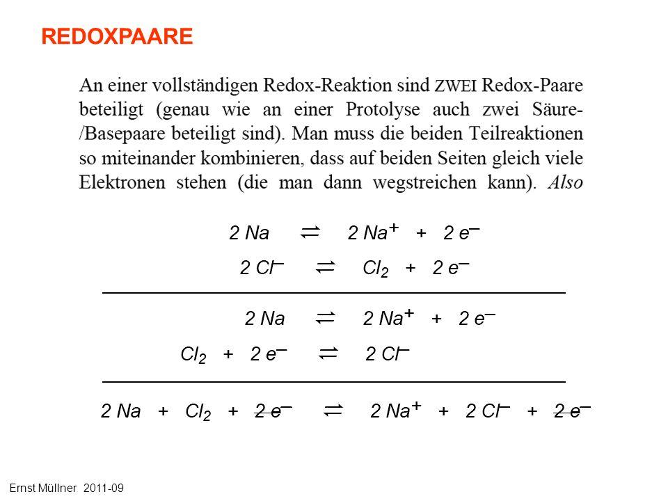 REDOXPAARE Ernst Müllner 2011-09