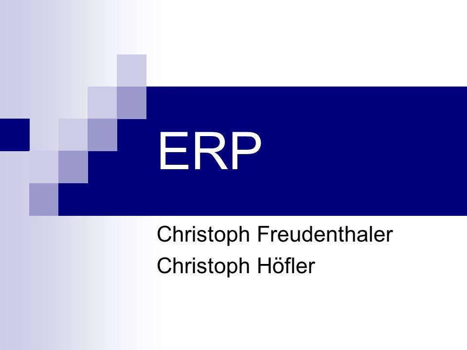 ERP Christoph Freudenthaler Christoph Höfler