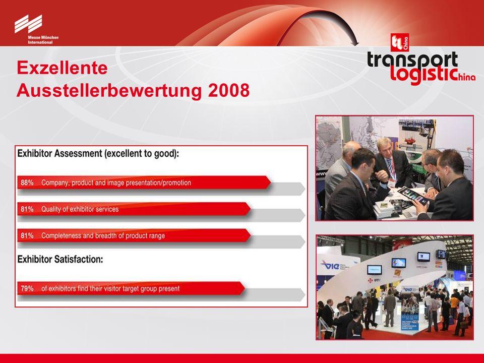 Exzellente Ausstellerbewertung 2008