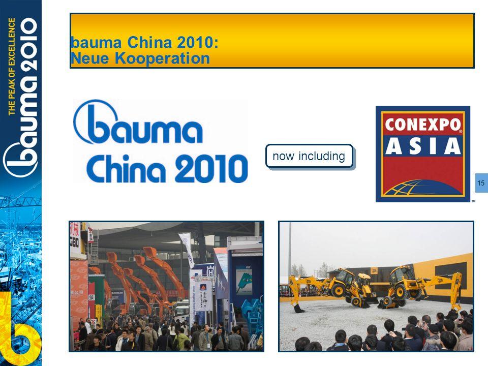 15 bauma China 2010: Neue Kooperation now including