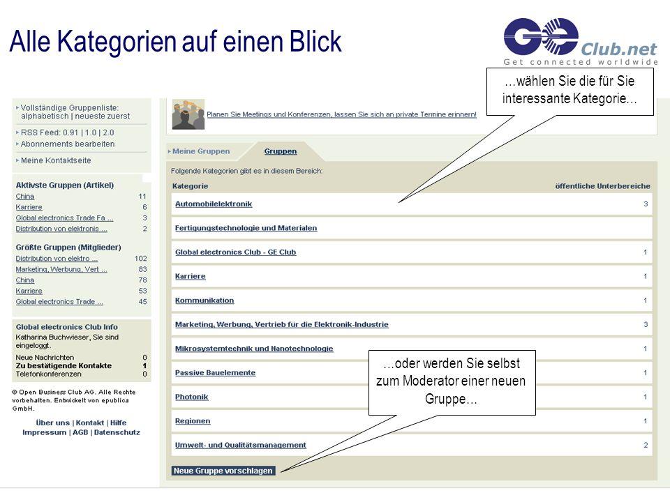 Registrierung …registrieren Sie sich kostenlos mit nur einem Klick in der Gruppe Ihrer Wahl…