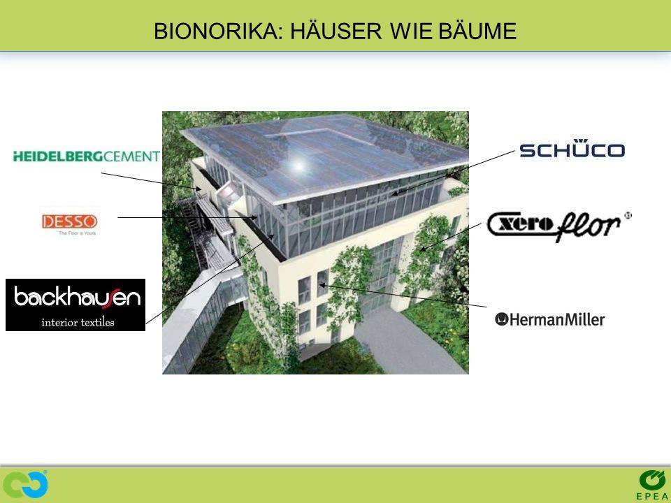BIONORIKA: HÄUSER WIE BÄUME Building: BIONORICA NEUMARKT