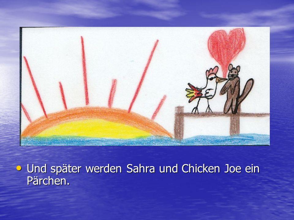 Der Arzt erklärt Chicken Joe, dass sie ihr Bewusst sein verloren hat.