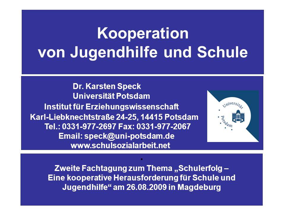 Abbildung 2: Gliederung 1.Kooperation – Eine erste Annäherung 4.