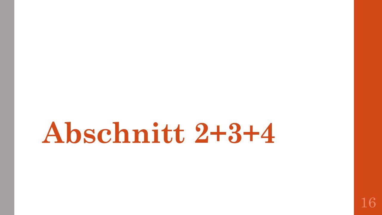 Abschnitt 2+3+4 16