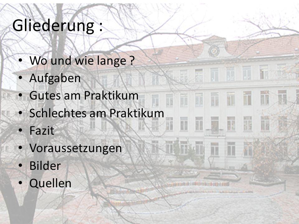 Ort und Zeitraum: Wo .-Richard-Grundschule -Richard-Platz 14, 12055 Berlin Wie lange .