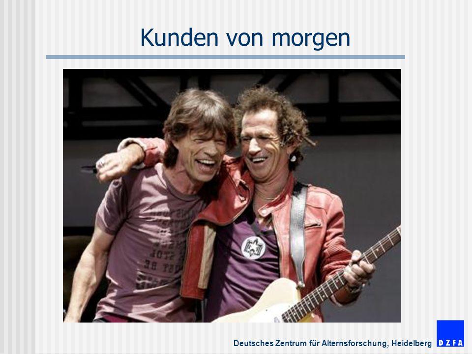 Deutsches Zentrum für Alternsforschung, Heidelberg Kunden von morgen