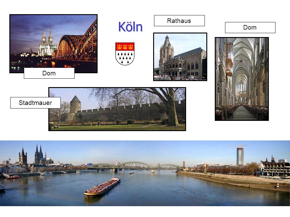 13 Köln Dom Stadtmauer Rathaus