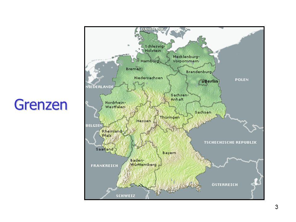 24 2.An welchen Ländern grenzt Deutschland.
