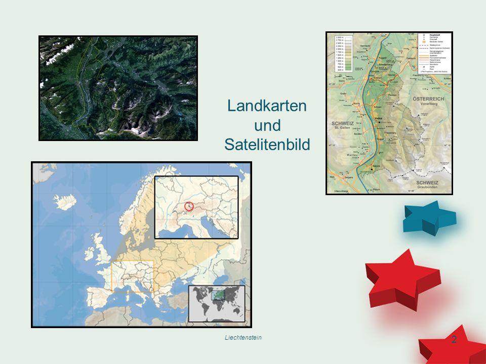 2 Landkarten und Satelitenbild