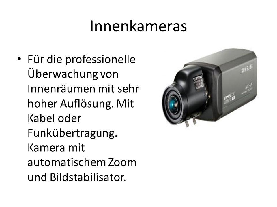 Innenkameras Für die professionelle Überwachung von Innenräumen mit sehr hoher Auflösung.