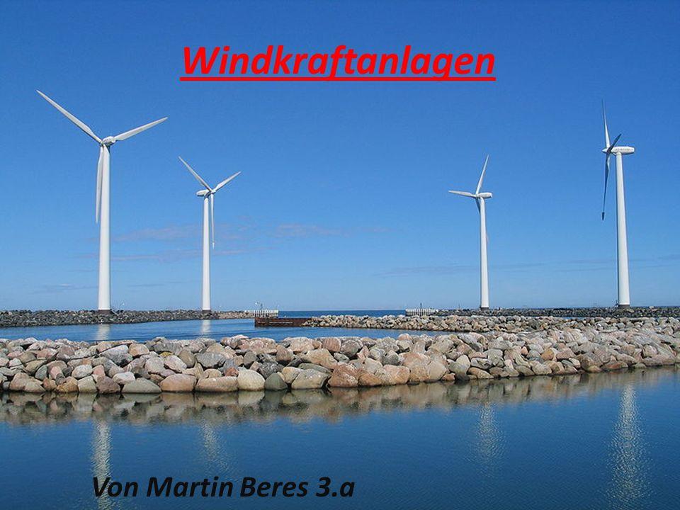 Windkraftanlage Eine Windkraftanlage (WKA) wandelt die kinetische Energie des Windes in elektrische Energie um und speist sie in das Stromnetz ein.