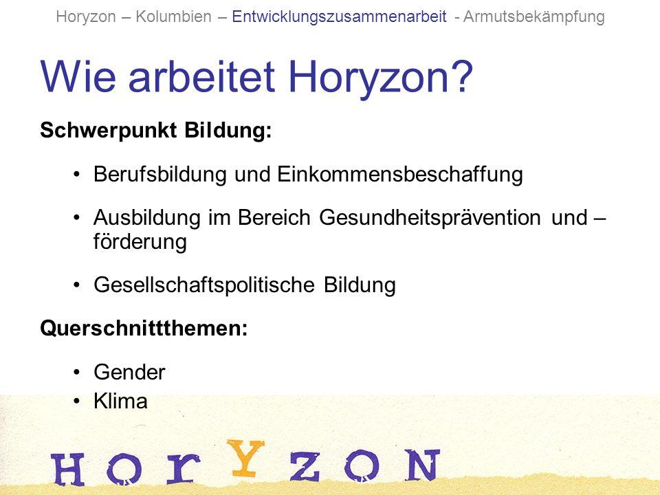 Wie arbeitet Horyzon.