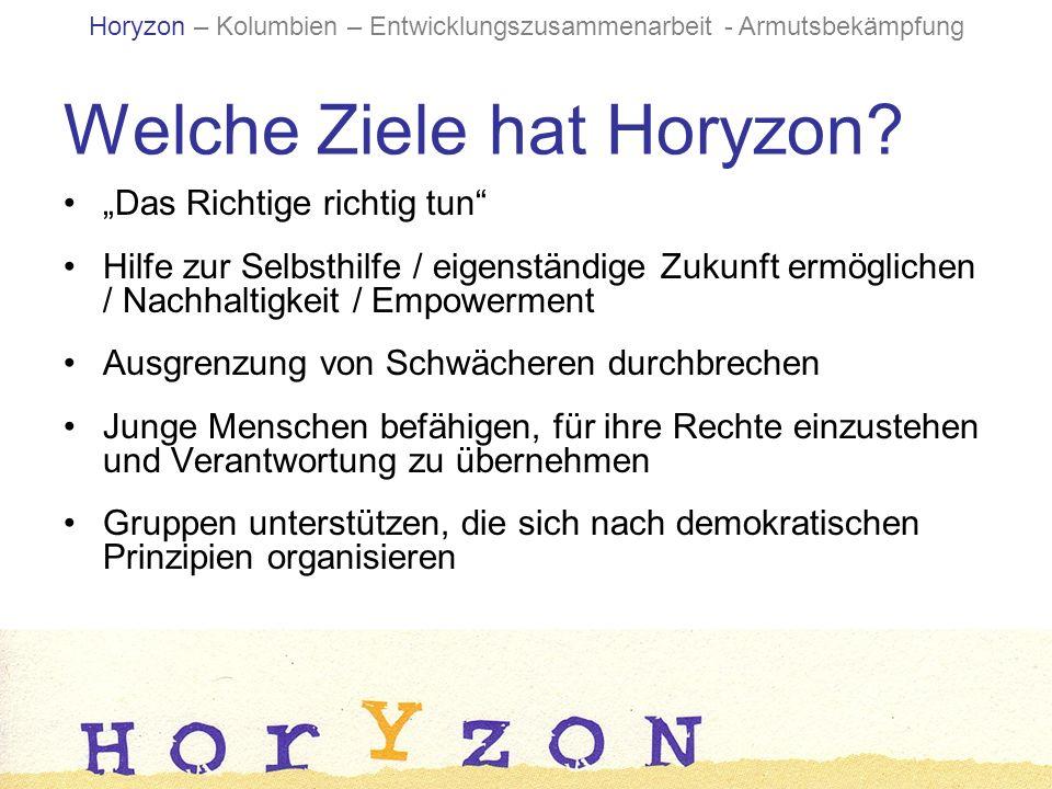 Welche Ziele hat Horyzon.