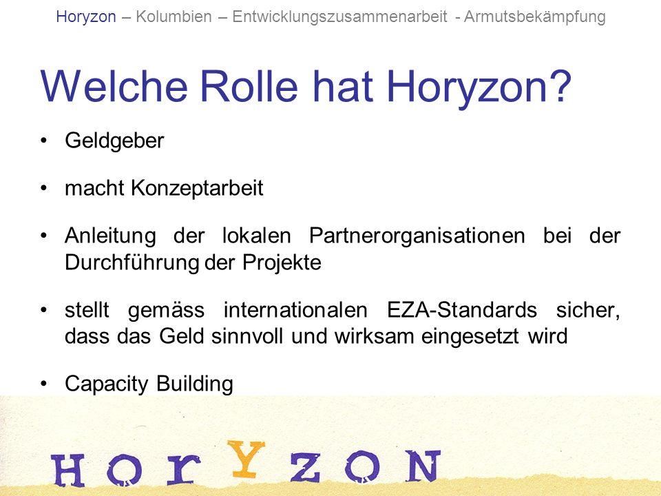Welche Rolle hat Horyzon.
