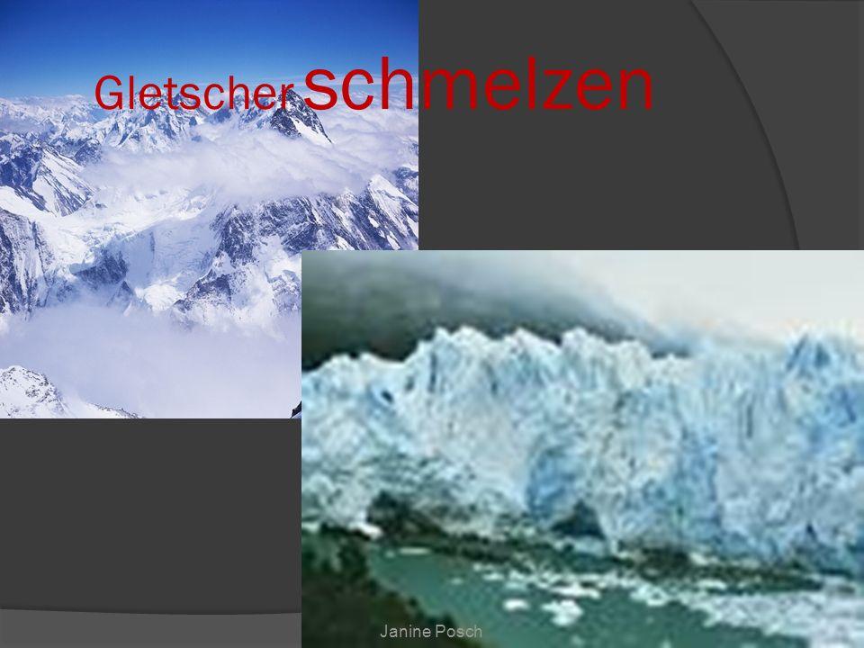 Janine Posch Gletscher schmelzen