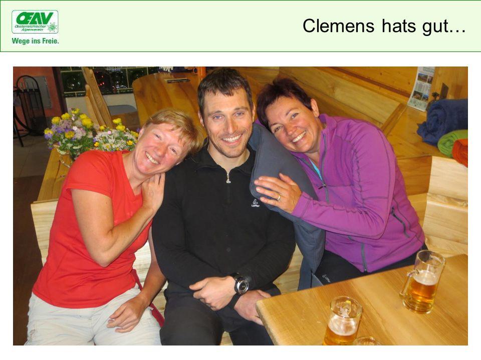 Clemens hats gut…