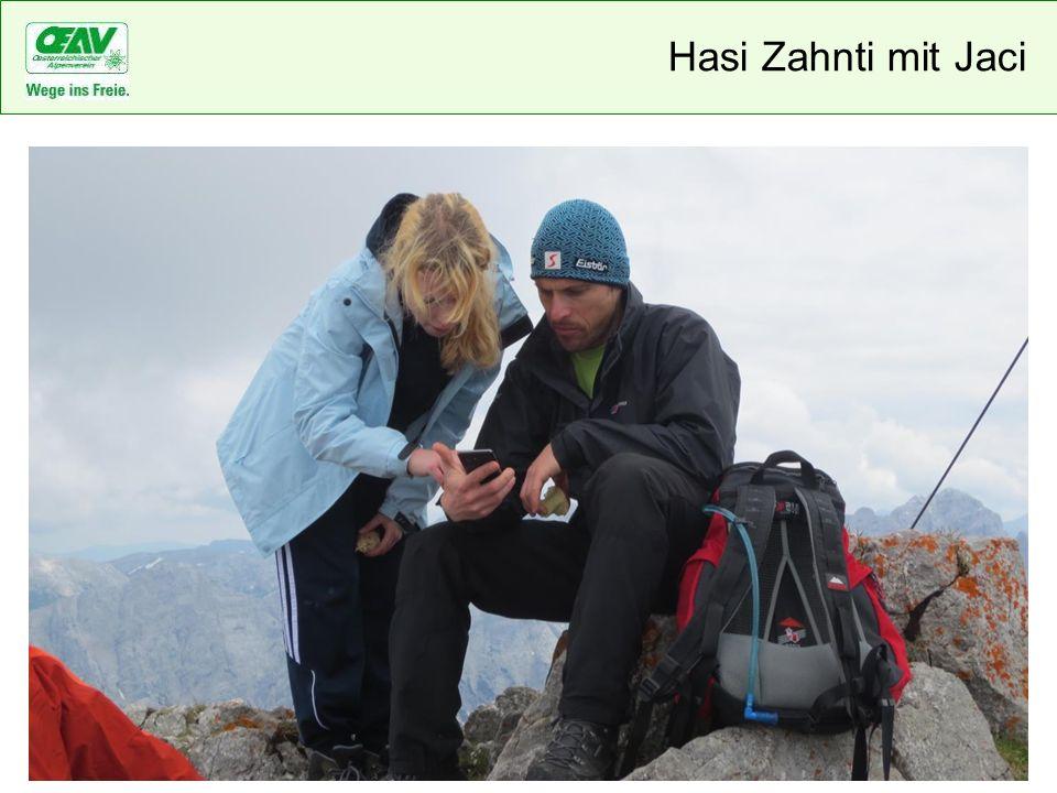 Hasi Zahnti mit Jaci