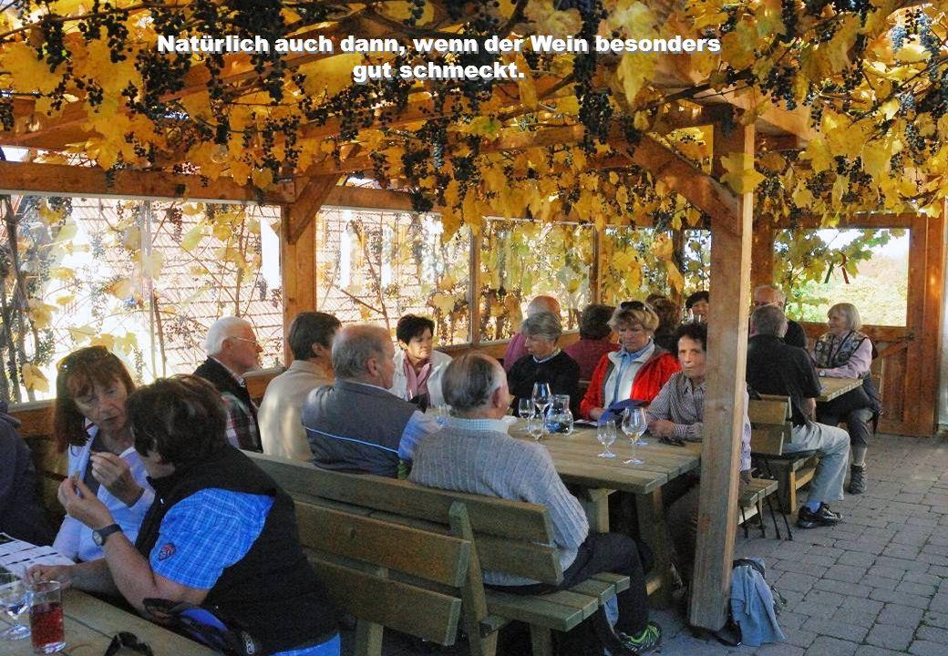 Hier konnten sich alle von der Qualität der Steirischen Weine überzeugen.