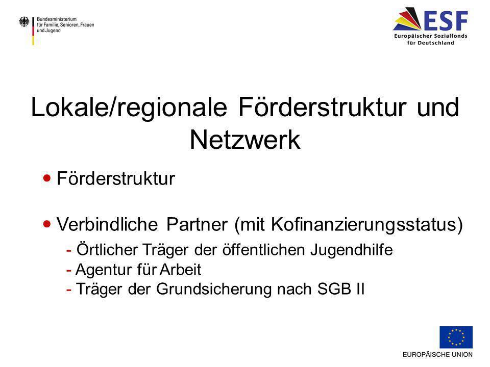 Verbindliche Partner (falls vor Ort vorhanden ) - Netzwerke lokales/regionales Übergangsmanagements - Jugendmigrationsdienst - Schulverweigerung – Die 2.
